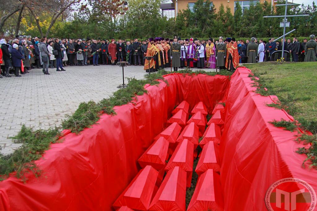 Земле были преданы останки 436 человек