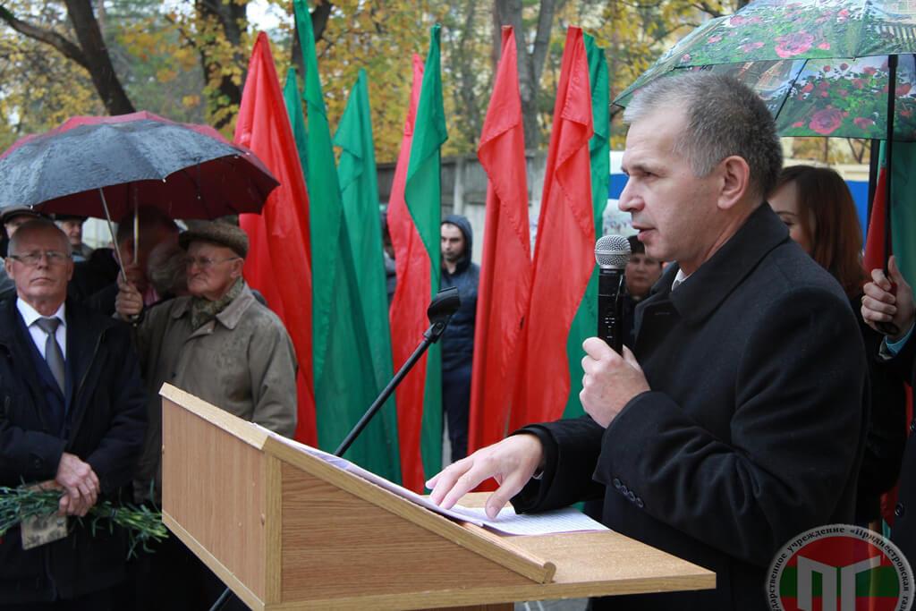 По словам Василия Нигая, многого удалось добиться благодаря первому директору ТТУ Ивану Добросоцкому