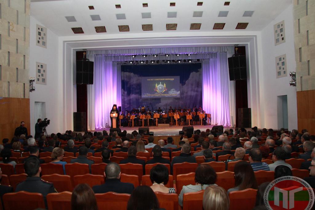 С профессиональным праздником сотрудников МВД поздравил и Владыка Савва