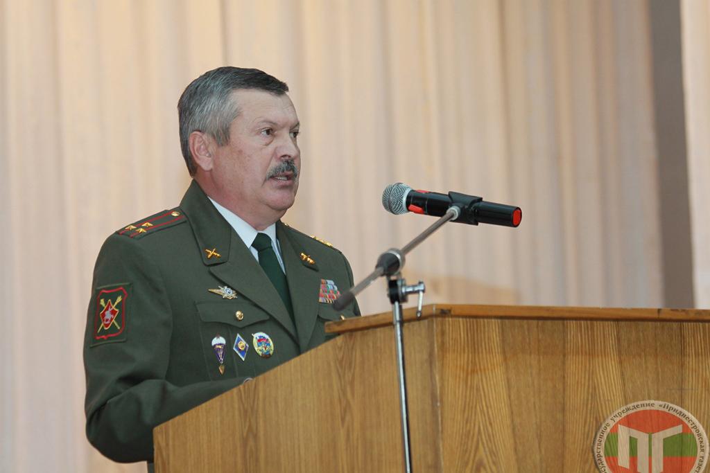 Начальник главного штаба — первый заместитель министра обороны Герасютенко Сергей Павлович