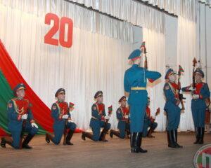 Визитная карточка приднестровской армии – рота почетного караула отмечает 20-летие со дня образования