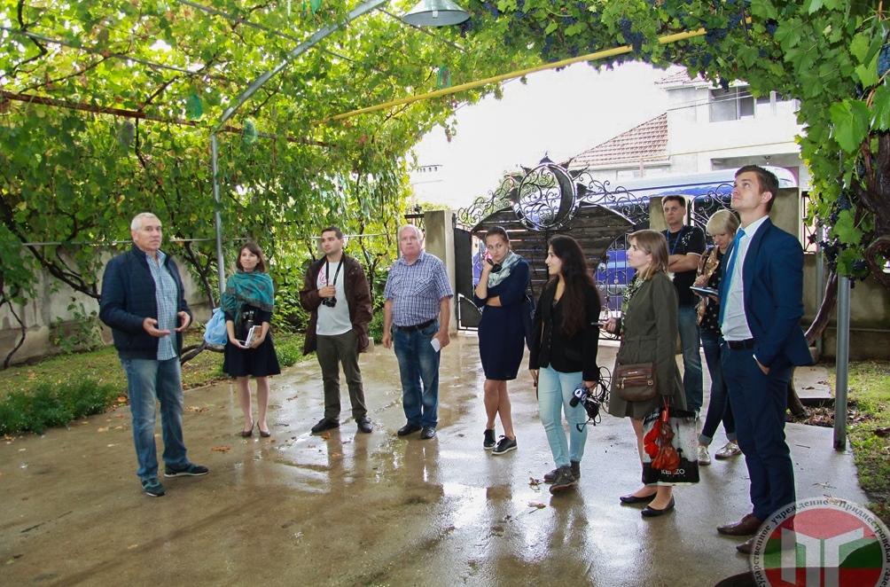 Гостевой дом Ольги и Николая Камерзан открыл свои двери для туристов около года назад