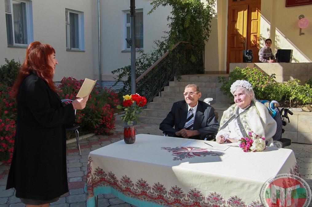 Марш Мендельсона, цветы, жених в костюме, невеста вся в белом