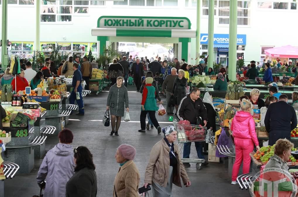 Сегодня рынок Тирасполя – один из крупнейших в Приднестровье