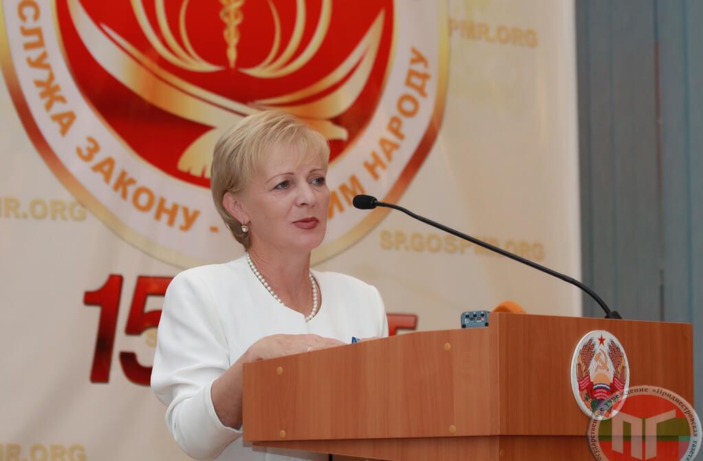 Открывая мероприятие, и.о. председателя Счетной палаты Светлана Юрьевна Изместьева отметила, что в 2002 году было принято решение о создании Счетной палаты Приднестровья