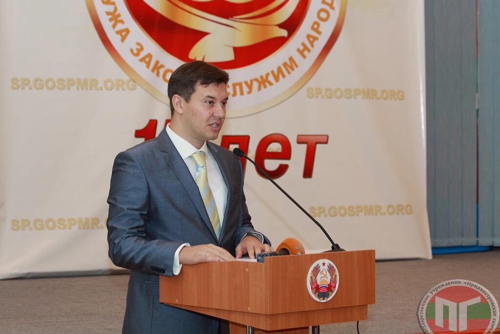 Сотрудников Счетной палаты от имени Правительства ПМР поздравил Алексей Цуркан