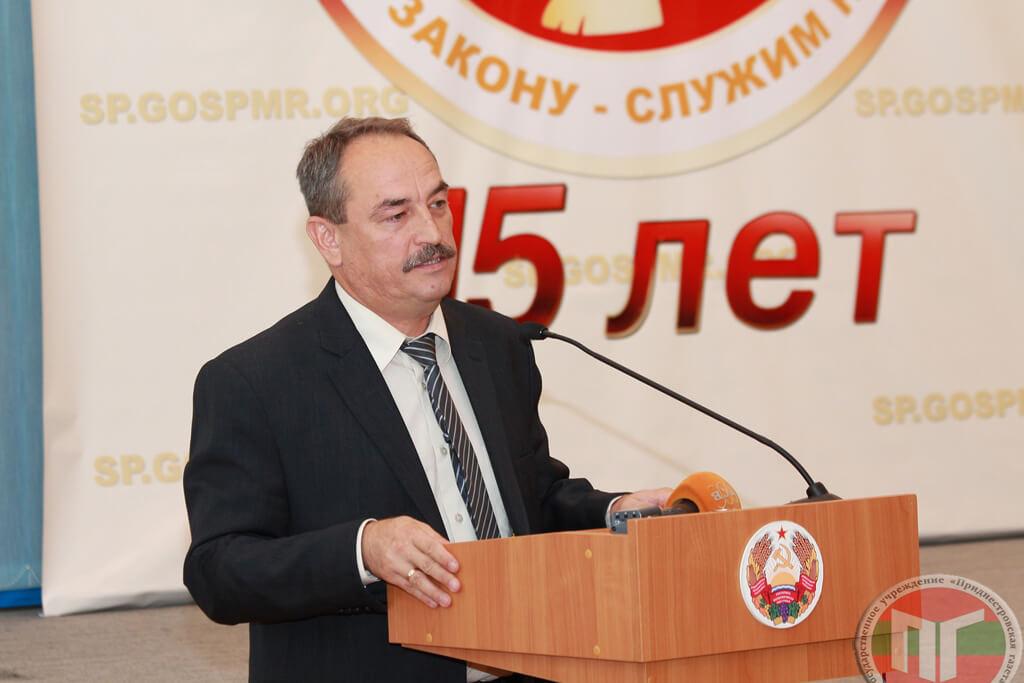 Депутат Верховного Совета Александр Коршунов