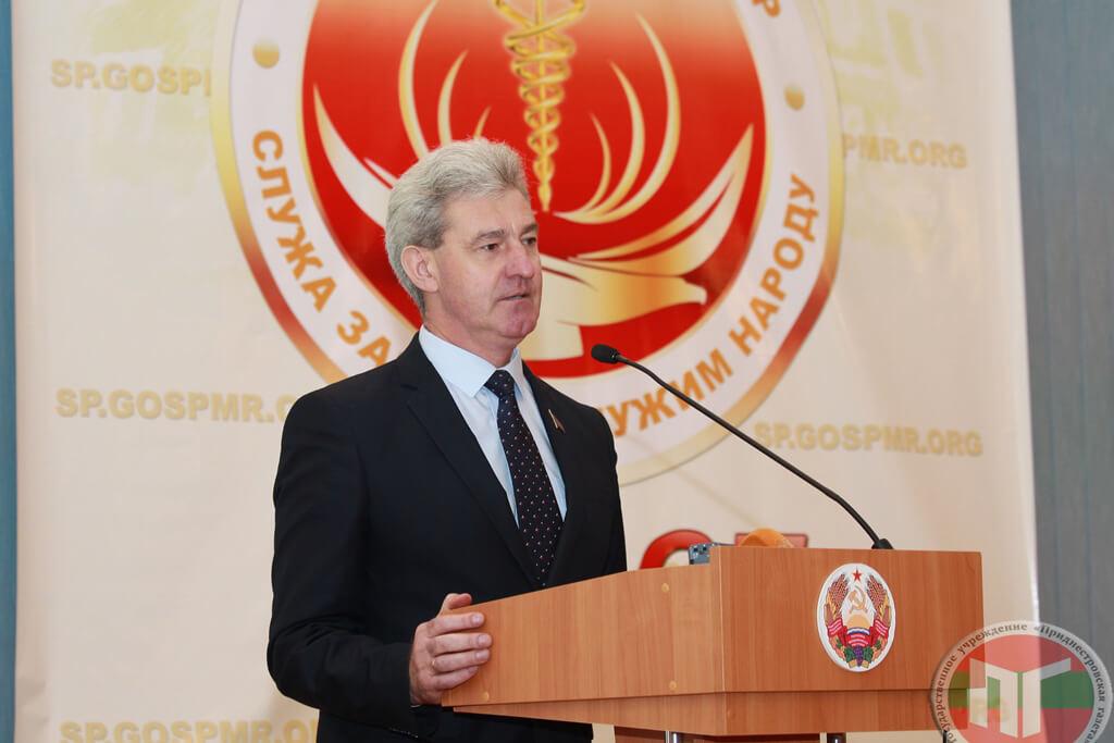 Член президиума центрального совета Республиканской политической партии «Обновление» Петр Пасат