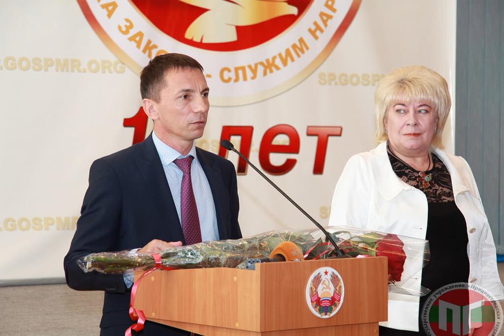 Министр промышленности и регионального развития Глига Николай Яковлевич