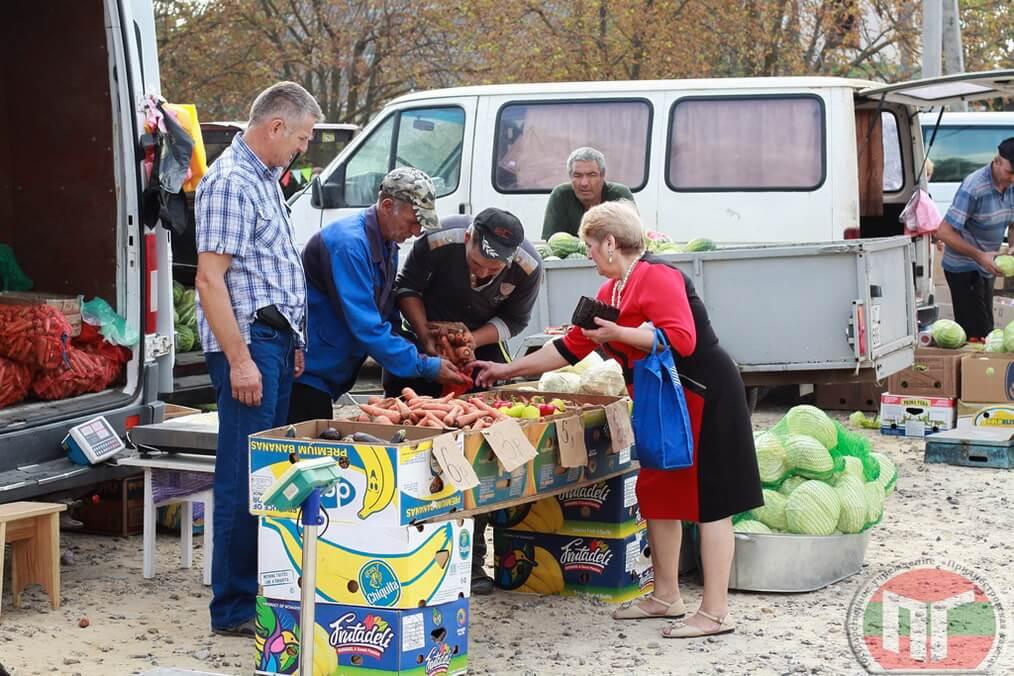 В этот день у местных жителей была возможность посетить сельскохозяйственную ярмарку и приобрести продукцию по приемлемым ценам